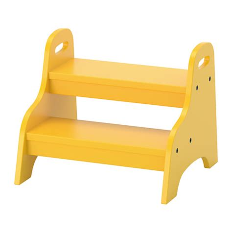 ikea step stool trogen children s step stool yellow 40x38x33 cm ikea