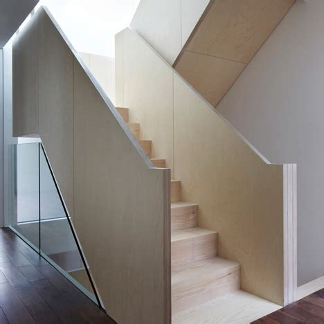 Plywood Stairs Design Wakefield Townhouses By Piercy Company Townhouse Townhouse And Banisters