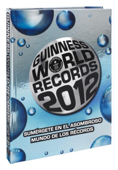 libro guinness world records 2012 sorteo 3 libros guinness world records 2012 juguetes