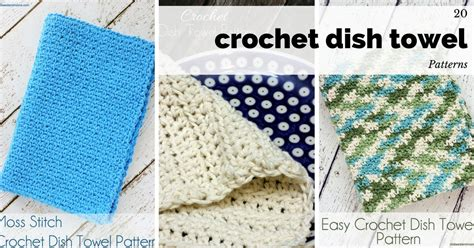 pattern crochet dish towel 20 crochet dish towel patterns