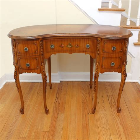 Kidney Shaped Writing Desk Reserved Kidney Shaped Desk Writing Desk Satinwood