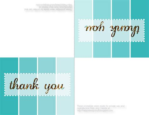 Printable Thank You Cards Free Template by Design Thank You Cards Printable Free Cool