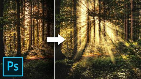 create light rays   simple steps  photoshop