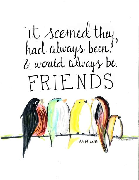 Friendship Quotes Aa Milne a a milne quotes about friendship quotesgram