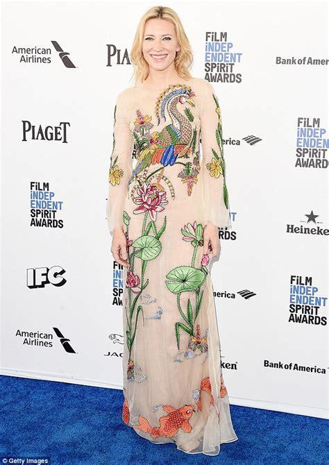 Independent Spirit Awards Cate Blanchett by Independent Spirit Awards 2016 Cate Blanchett Turns Heads