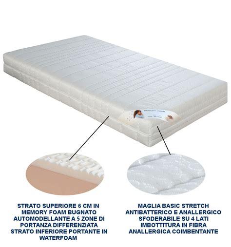 materasso in memory rete elettrica doghe in legno con materasso ortopedico in