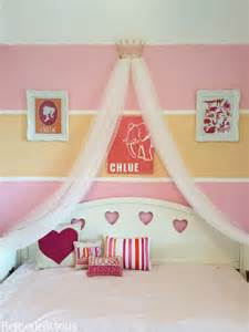 Make Bed Crown Canopy Project Of The Week Make Your Own Disney Princess Inspired