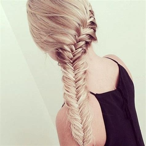 full and thick braids fishtail french braids and braids on pinterest