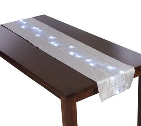 table runner with lights bethlehem lights 72 battery op table runner with lights