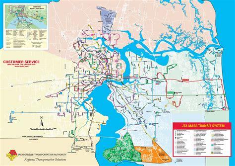 of florida cus map pdf jacksonville transit