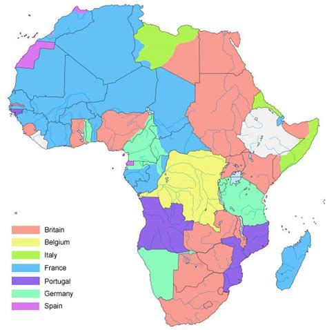 world war 1 africa map here s africa completely dominated by european powers