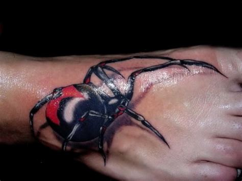 3d spider tattoos 3d tattoos