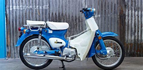 modifikasi motor cetul semacam honda c70 bebek cafe racer bertenaga 22 hp