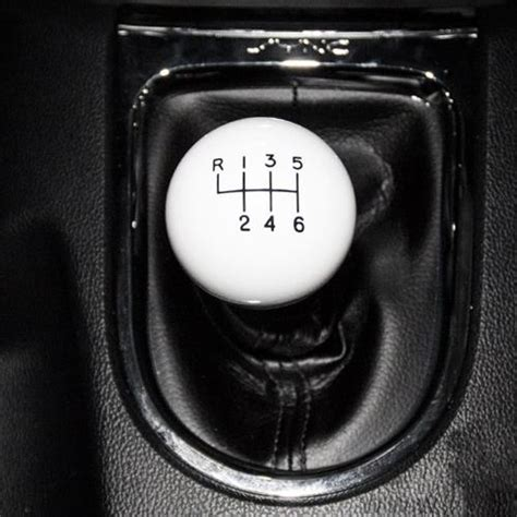 Steeda Shift Knob by Steeda Mustang Shift Knob White 15 17 203 E226ulsi20