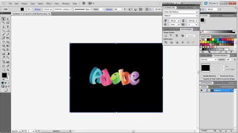 3d text design tutorial in adobe illustrator youtube how to create 3d text in adobe illustrator youtube