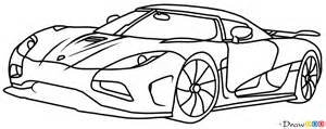 how to draw koenigsegg agera r supercars how to draw