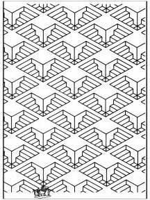 all sorts of art coloring pages geometric shapes 11