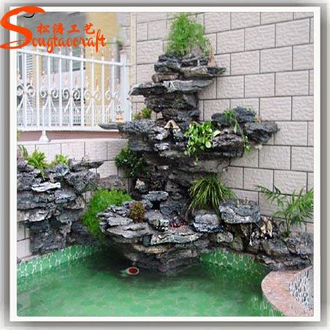 decorative waterfalls for home home waterfall fountains
