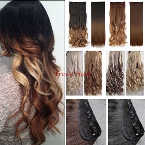 real human hair extensions 100 real as human hair extensions ombre full head clip in