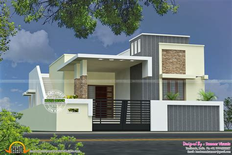 Designing Houses by Single Floor House With Plan Kerala Home Design And