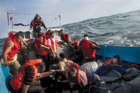 refugee on boat asylum seekers st eutychus