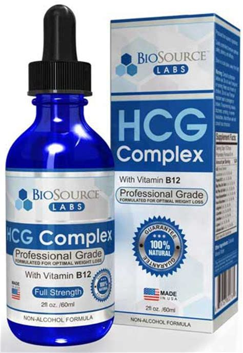 hcg complex review based   weight loss results