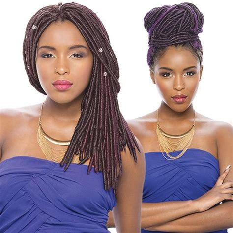 faux loc crochet hair janet janet collection synthetic hair crochet braids 2x havana