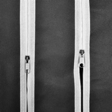 armadi in tessuto armadio in tessuto con compartimenti e barre 45 x 150 x176