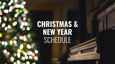 christmas schedule 2016 16x9 hope hill church