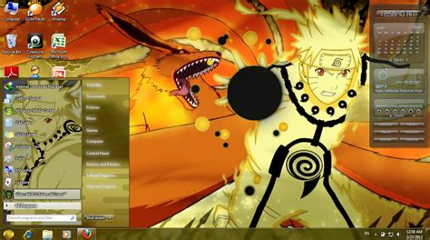 naruto themes pack skin pack untuk windows 7