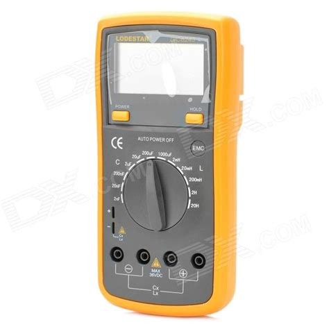 inductance meter india lodestar lvc6243 2 7 quot lcd digital inductance capacitance meter free shipping dealextreme