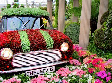 Amazing Victoria Secret Victoria Gardens #5: AutomobileFlowerSculpture.jpg