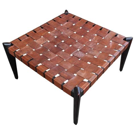 leather bench ottoman fabulous large square woven leather bench or ottoman at