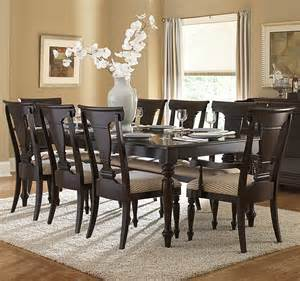 rectangular dining room sets homelegance inglewood 9 piece rectangular dining room set