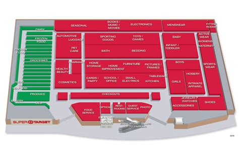 target store map