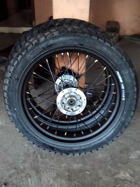 Velg Tapak Lebar 250x300x17 Sprint Xd Xd Velg Moto satu set roda klx velg xd 350 dan 300 ring 17 velg