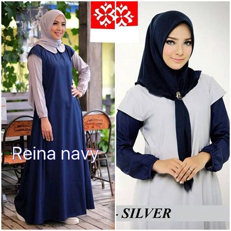 Reina Maxi Dress baju modern new reina maxi grosir baju muslim