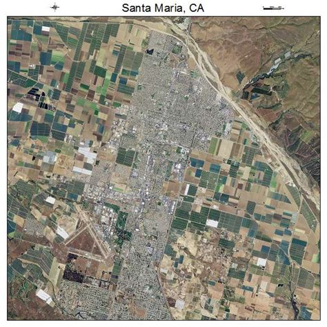 of california santa map aerial photography map of santa ca california