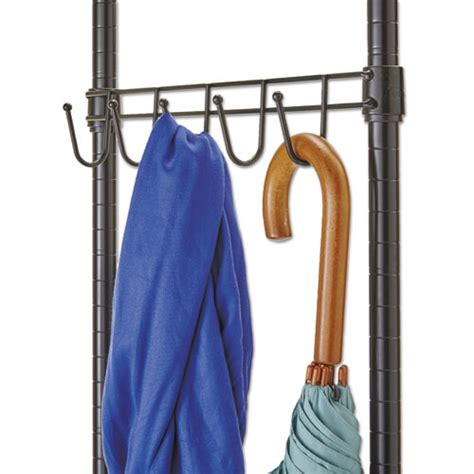 alera wire shelving garment rack alegr364818bl alera 174 wire shelving garment rack zuma