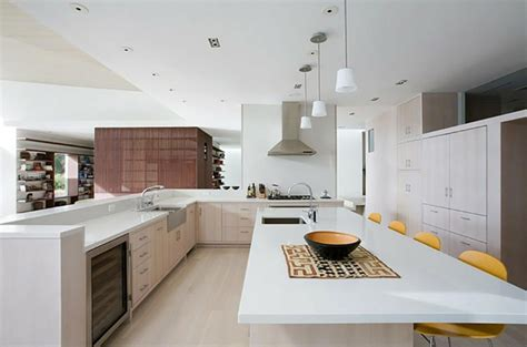 bar cuisine am駻icaine conforama ambiance cosy par le luminaire led dans une cuisine