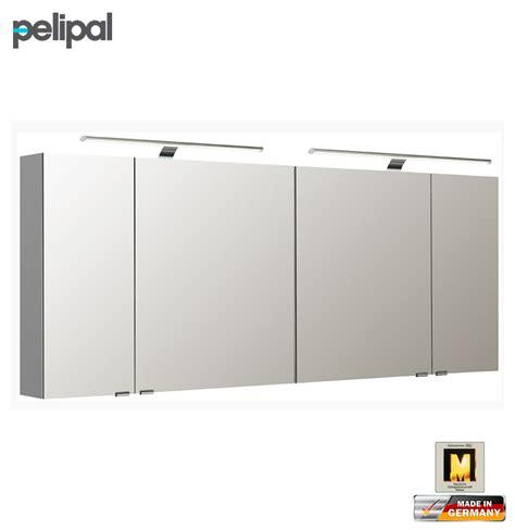pelipal neutraler spiegelschrank 180 cm mit led