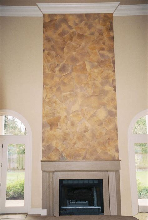 6 Bookcase Faux Stone Faux Finishing Old World Finishes A Few Of