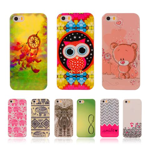 Soft Owl Iphone 5s owl back cover soft silicone phone for iphone 5 5s iphone se printed plastic