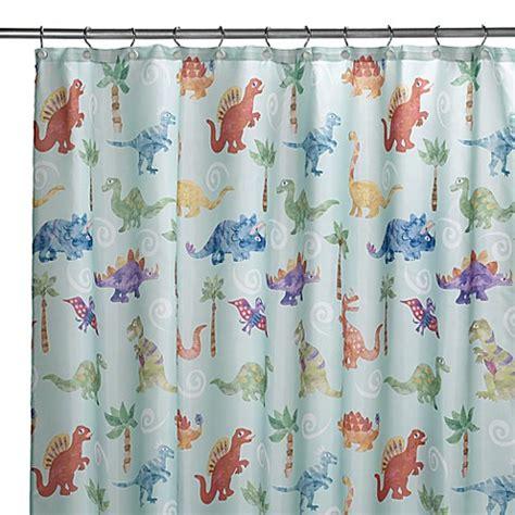 dinosaur curtain dinosaur friends shower curtain bed bath beyond