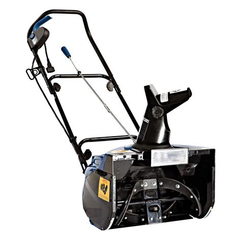 snow joe 18 ultra electric snow thrower with light snow joe ultra 18 in 13 5 amp electric snow blower with