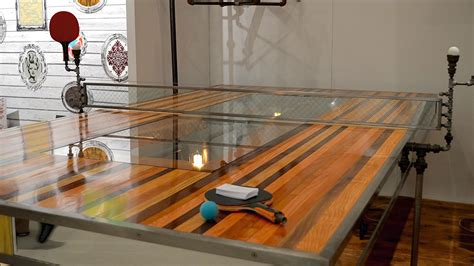 build table tennis legs this ping pong table took 400 hours to build gizmodo australia