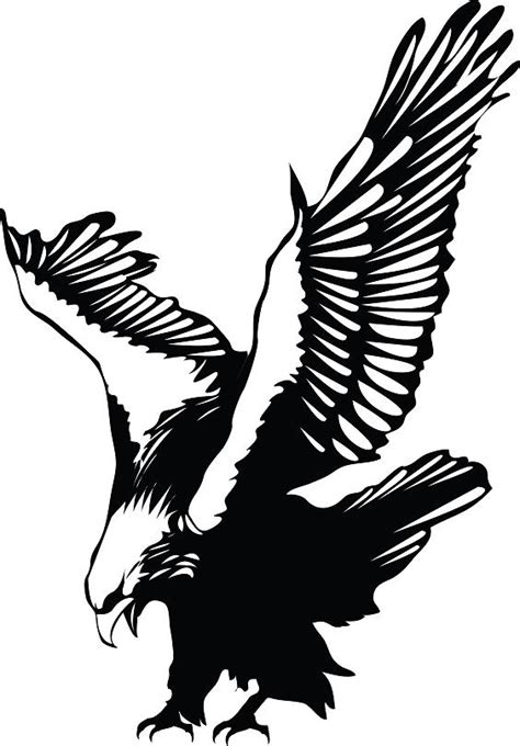 eagle tattoo designs free falcon tribal eagle symbol clipart cliparthut free clipart