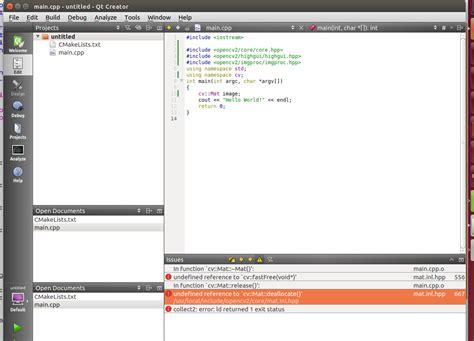 qt programming stack overflow c qt creator has cmakelists load into project stack
