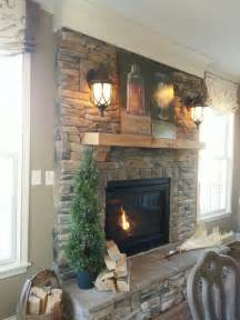 fireplace rock ideas 34 beautiful stone fireplaces that rock
