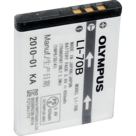Olympus Battery Li 80b 650mah olympus li 70b rechargeable lithium ion battery 650mah